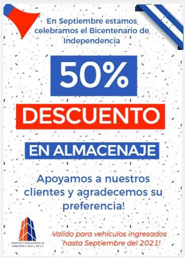 Promoción del Bicentenario de Honduras